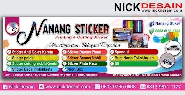 Contoh Desain Banner Percetakan - Percetakan Tanjungbalai