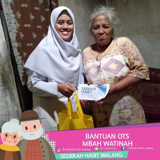 Mbah Satinah : Bantuan OTS