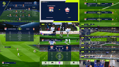PES 2021 French Scoreboard Pack by Overall