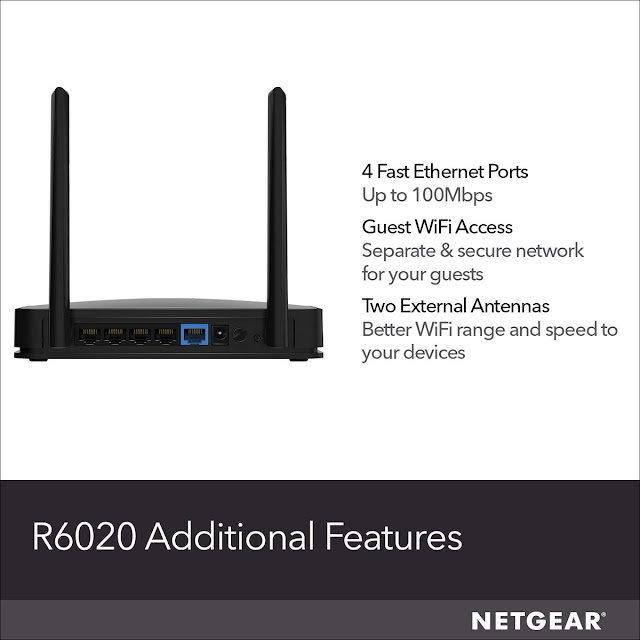 NETGEAR R6020 WiFi Router