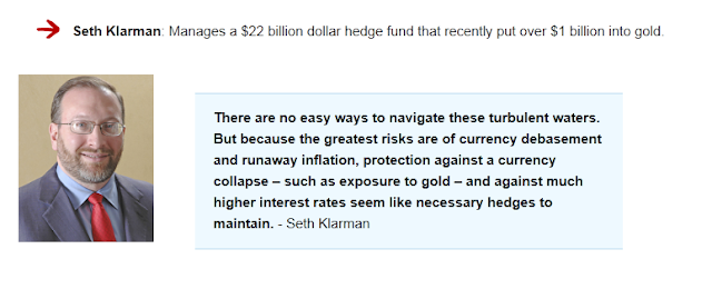 seth klarman's take on gold ira