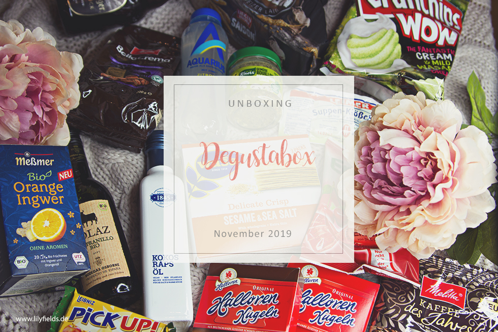 Degustabox - November 2019 - unboxing