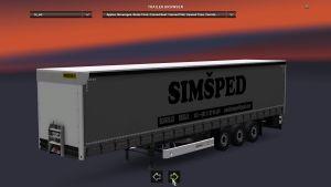 Trailer SimŠped