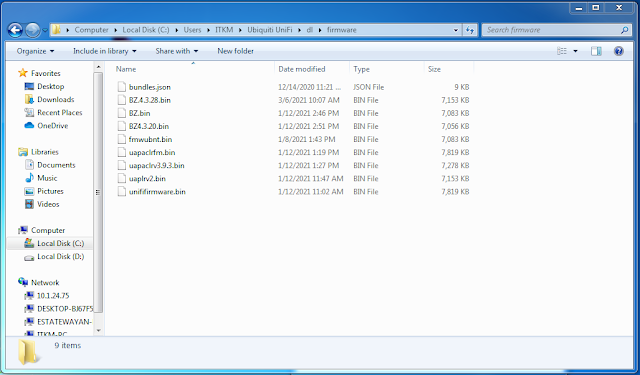 2 Cara Update Firmware Ubiquiti Unifi AP Menggunakan SSH
