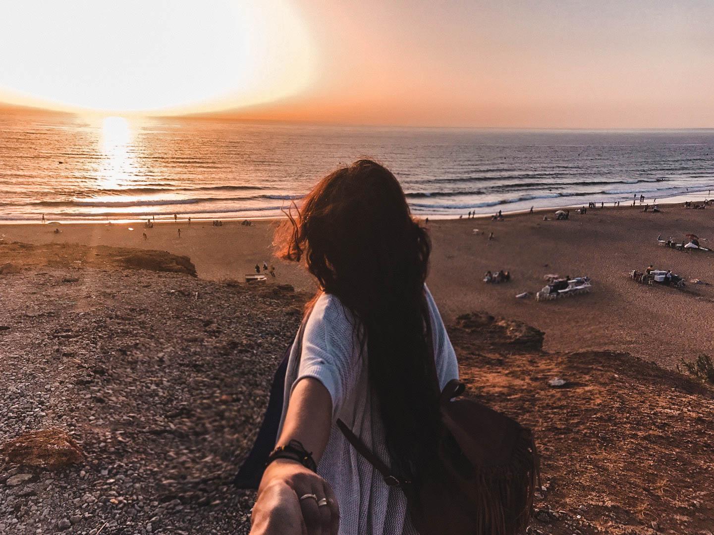 Achakar Beach Tangier Morocco