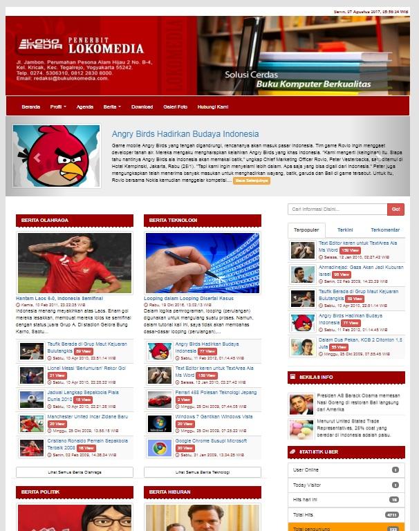 loko_Ci Template Admin Bootstrap Ci on theme games, theme animated, panel template, dashboard template,