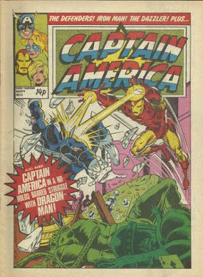 Captain America #3, Marvel UK, Iron Man