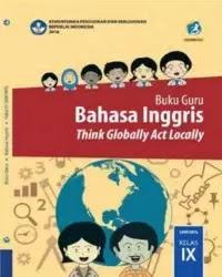 Buku bahasa Inggris Guru Kelas 9 k13 2018