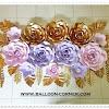 Paper Flower / Bunga Kertas (Paket Premium A)