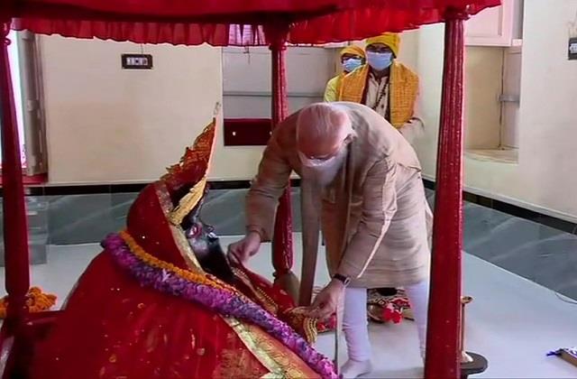 বাংলাদেশঘে মতুয়া সমাজের মন্দিরে নরেন্দ্র মোদী