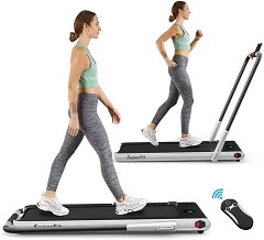 GoPlus 2 in 1 Folding Under Desk Treadmill
