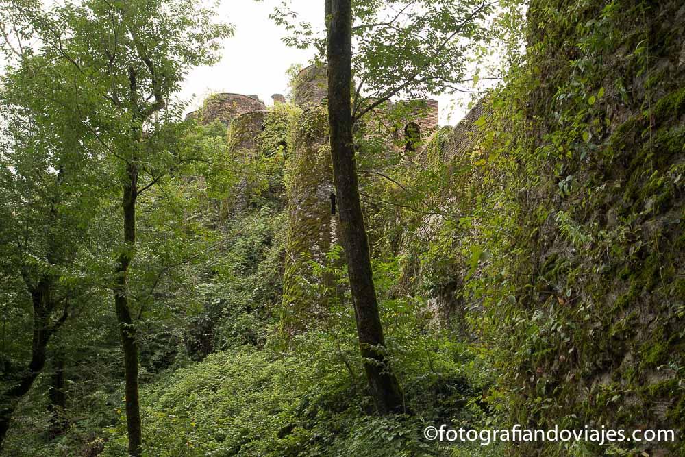 Castillo fortaleza de Rudkhan Iran