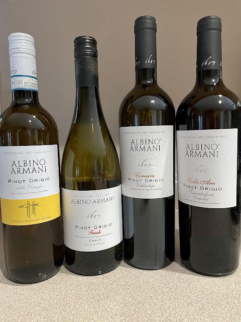 Pinot Grigio from Albino Armani