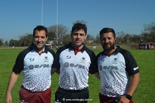 Iñaky Barraguirre (URS), Pablo Casella (URT) y Martín Molina (URS)