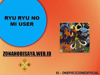 Pemakan Buah IBlis Ryu Ryu No Mi Yang Di Ketahui