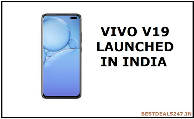 Vivo V19 launched in India