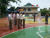 Koramil 05/Sail Berikan Pengetahuan Wasbang Kepada Puluhan Murid SMA 11 Negeri Pekanbaru