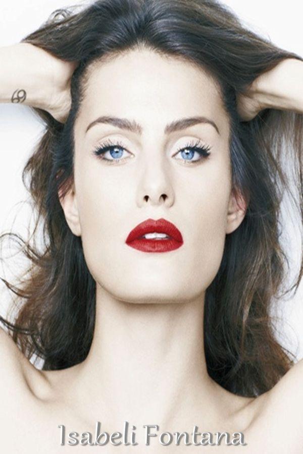 L'Analisi del Colore Megan Fox la Donna Inverno Brillante  Gli Uomini e le donne esempi di tale tipologia cromatica