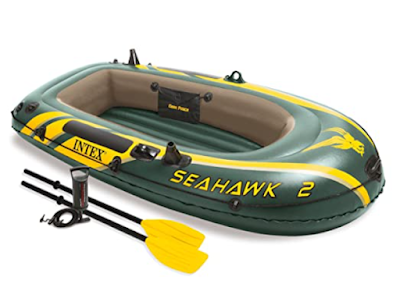 Seahawk 2 Set Lake Boat to Enjoy Fishing, Relaxing or Rowing on the lake