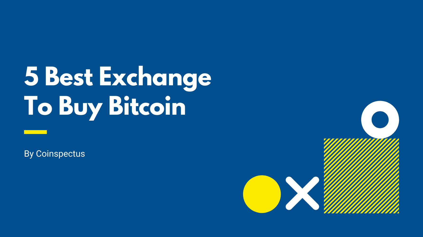 Best Cryptocurrency Exchange To Buy/Sell Bitcoin In India