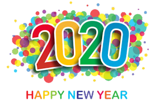 happy new year 2020 text png 9