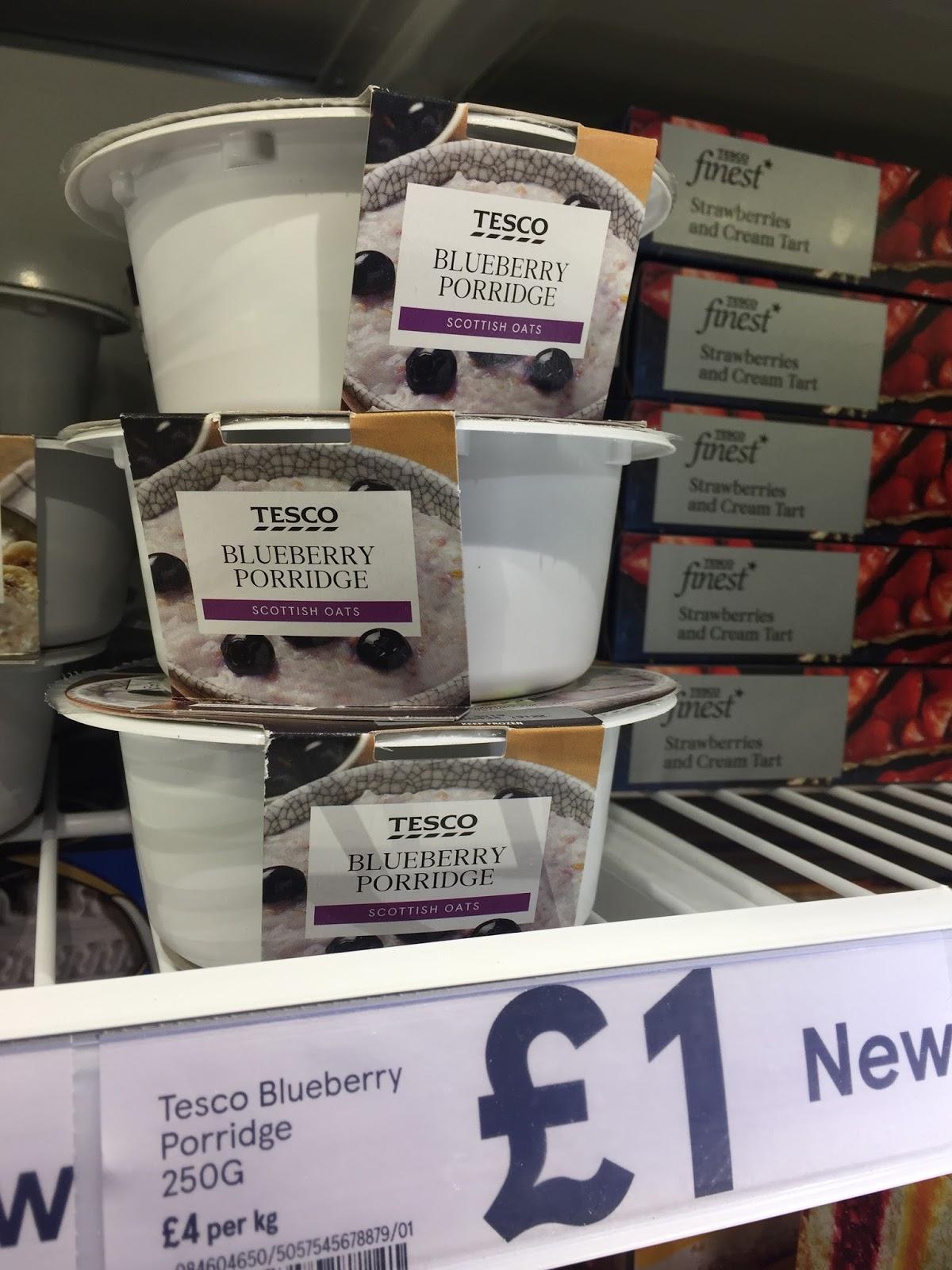 Tesco Frozen Porridge Madness