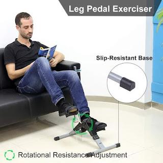 Sepeda Statis Terapi Kaki, Lutut, Pengapuran, Stroke, Patah Tulang dll