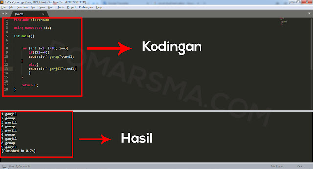 Cara Compile dan Menjalankan Program C++