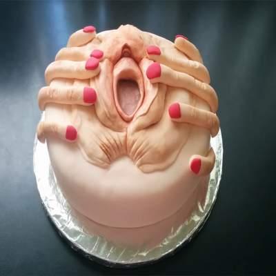 Greedy cunt cake for adult boys