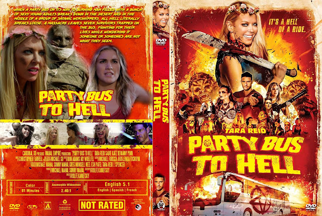 Party Bus To Hell  DVD Cover