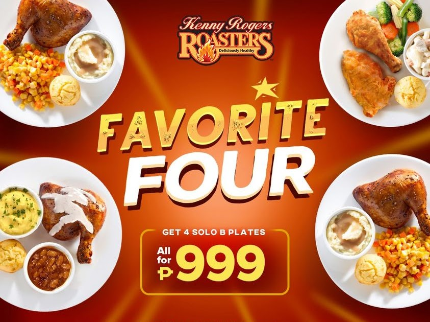 Manila Shopper: Kenny Rogers Favorite Four Bundle Promo