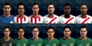 PES 2013 Mix Facepack Copa America 2016