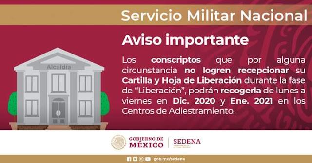 Iniciará la entrega de Cartillas Liberadas de Identidad del Servicio Militar Nacional Clase 2001 y remisos.