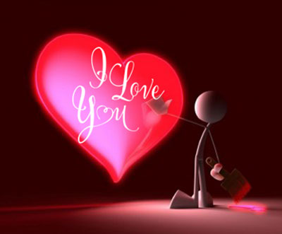 love Dil लव हार्ट  Photo Download