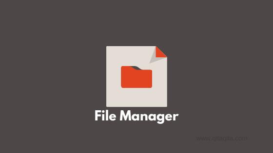 Gambar File Manager