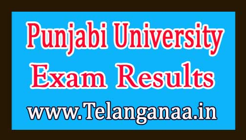 Punjabi University M.Sc Botany 4th Sem 2016 Exam Results