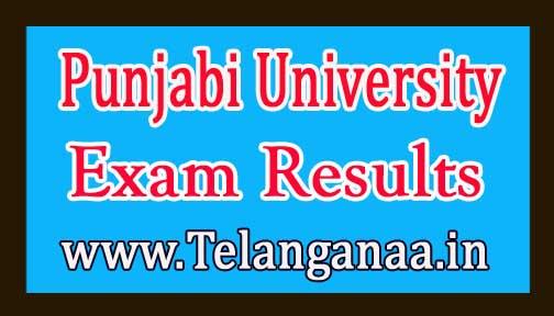 Punjabi University M.Sc Botany 4th Sem 2018 Exam Results