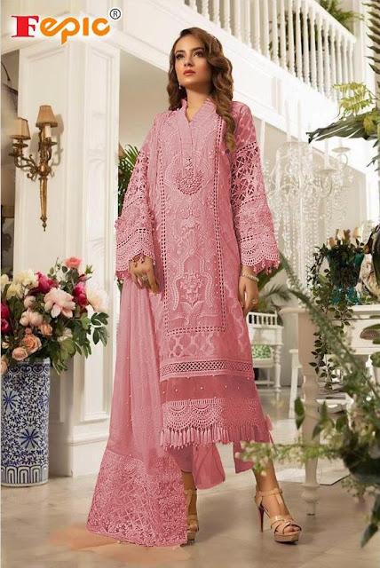 Fepic Rosmeen Paradise Block Bluster  Pakistani Suits Wholesale
