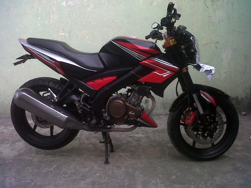 Modifikasi Yamaha Vixion 2014