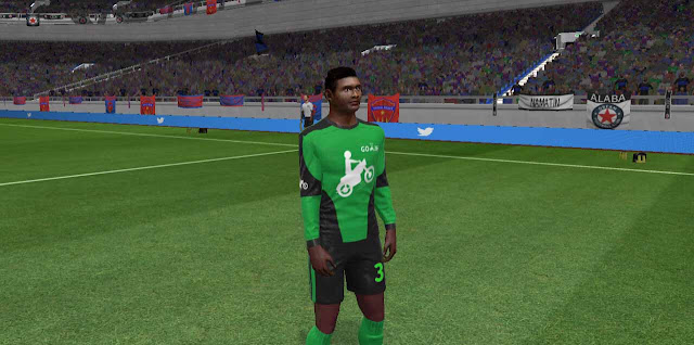 Kit Dream League Soccer Seragam Ojol Gojek