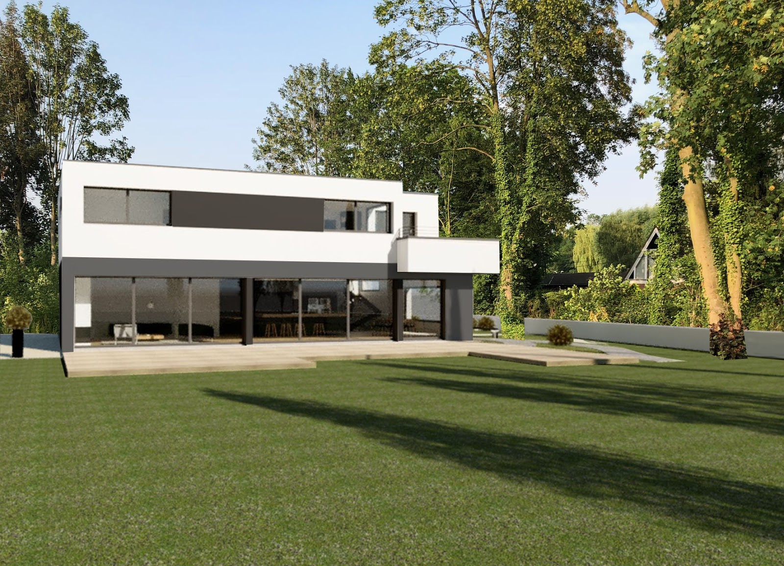 Jacques Lenain Architecte Lille Construction D Une Maison Individuelle Wasquehal