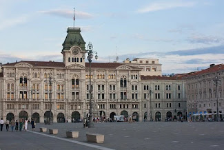 Piazza Unità d'Italia is the focal point of the elegant port city of Trieste