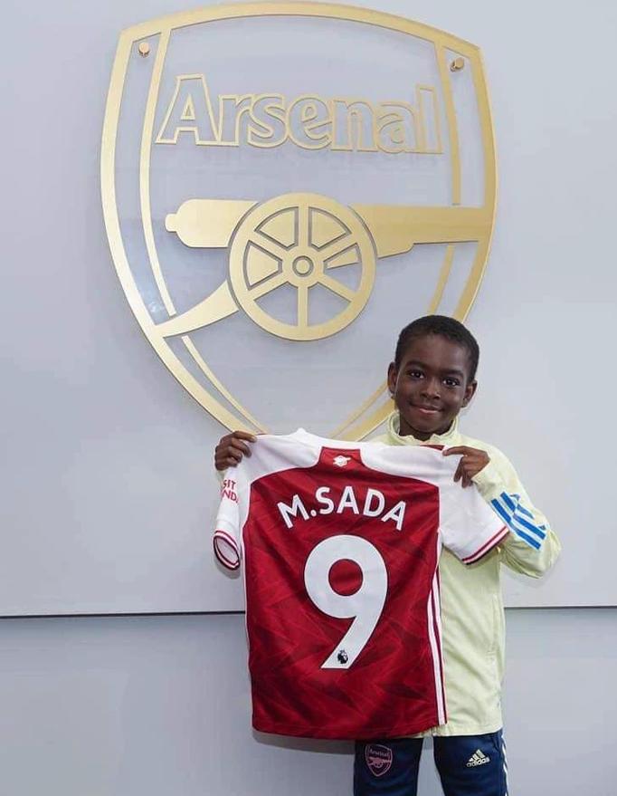Munir M Sada signs for Arsenal
