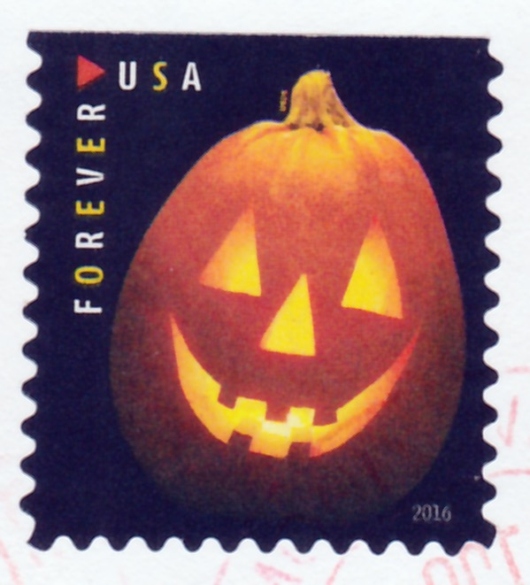 Covers and stamps of the world citrouilles d 39 halloween - Halloween citrouille creusee ...