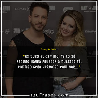 Frases de Sandy & Junior 08