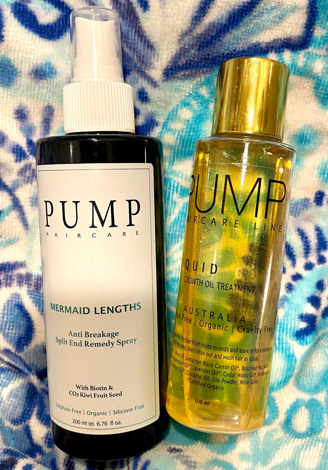 Pump Haircare Mermaid Lengths And Oil Diane Mary S Take On Beauty