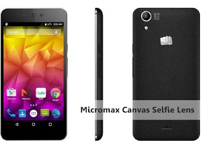 Micromax Canvas Selfie Lens specifications and price India, Buy online Micromax Canvas Selfie Lens flipkart, snapdeal