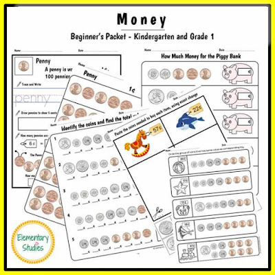 Coin Math | Money worksheets, Free math worksheets and Free math
