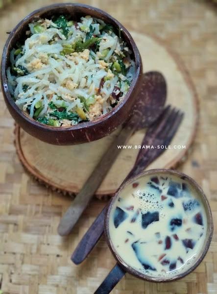 Shirataki dapat dijadikan olahan makanan atau minuman