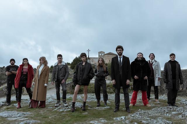 On repart avec une saison 3 de La Casa De Papel